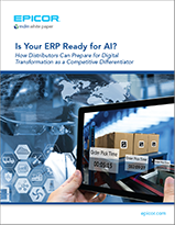 Is Your ERP Ready for Artificial Intelligence? COVER