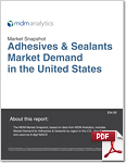 2017 Adhesives and Sealants market snapshot cover