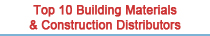 Top building materials and construction distributors