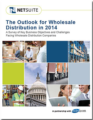 Cover - 2014 Distribution Industry Outlook, sponsored by NetSuite