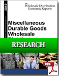Miscellaneous Durable Goods Economic Report