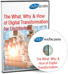 What why how of digital transformation for distributors