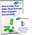 How to Help Your Sales Team Execute Price Changes Successfully