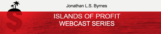 Islands of Profit Webcast Series landing page header