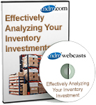MDM Webcast: Effectively Analyzing Your Inventory Investment