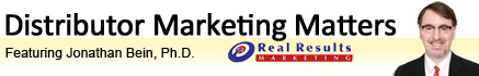 Distributor Marketing Matters header